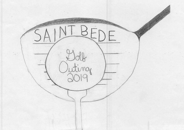 St Bede Golf Out 2018 Logo
